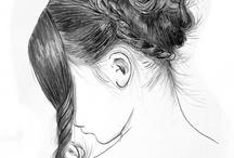 Conté Drawings