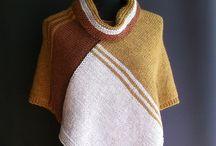 pončo pletené