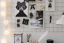 Inspiration wall/Moodboard