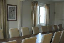 Konferensavdelningen / På andra våningen hittar ni konferensmöjligheter.