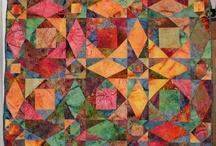 Quilts storm at sea batik