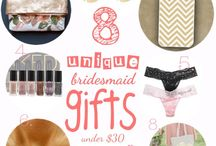 Gift Ideas for Guests, VIPs, and Bridal Party / Gift ideas for your bridal party, guests, and VIPs