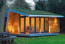 Garden office pods