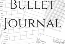 Bullet Journal - Prints / An attempt to collect prints for different layouts to glue or copy into your bullet journal.