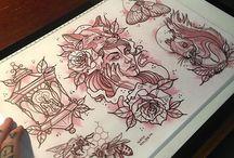 tattoo drawing vol.4
