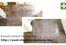 Encaustic Cement Tile Cleaning