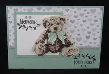 Scrap Bebe Ourson Stampin Up