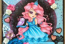 HANNAH LYNN / CRAFTS & ME - GIRLY CUTE HANDMADE CARDS