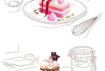 menu book design