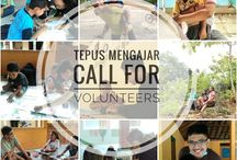 Tepus Mengajar / Mempunyai mimpi Indonesia Baru. Pergerakan anak-anak muda membangun pendidikan desa