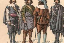 RopaSiglos XVI-XVII