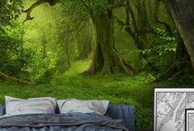 bedroom art