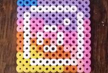 Hama Beads - Social Media Icons