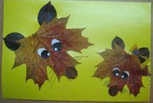 Roční období - Podzim / Podzimní tvoření a hry pro malé děti