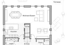Grundrisse / Grundriss, Fassade, allgemein