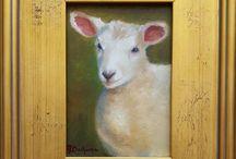 Mireille Duchesne / Oil Paintings of animals