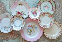 Home decorating using vintage China / China to use in home deocorating / by Lana Artz- Prine