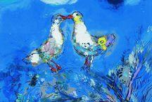 Marc Chagall Picasso Época Azul