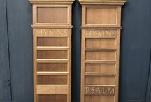 Hymnboards, Psalm Boards, Numbers