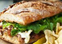 Sandwiches, Burgers, & Sliders / Sandwiches, Burgers, & Sliders / by Don Richardson