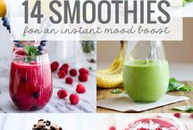Juices, smoothies and ice cream