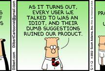Dilbert / by Kristof Holder
