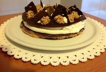 Millefoglie di cioccolato con crema di Philadelphia  / I Dolci di Maria Rita