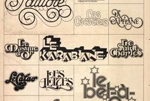 70S TYPOGRAPHY / by Ron Artest
