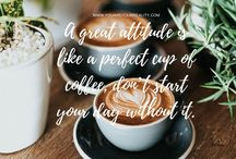 Morning Motivation Quotes / A collection of mobile wallpapers and quotes perfect for morning motivation! If you have trouble getting going in the morning then these morning motivation quotes are going to be perfect to inspire you!