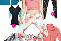 Fitness Apparel / Looking cute while you sweat it out. / by Sedo Cryo