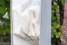 beautiful literature (folded books) / moja tvorba (my pieces)