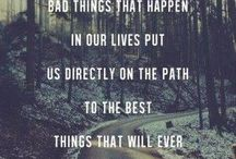 Life quotes / The path we choose