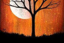 halloween painting ideas