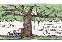 Liniers : Un conejo dibujante / Ilustraciones y tiras de Liniers