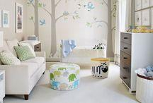 Dekorasyon bebek odası