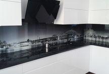 Uniqglass.pl - realizacje / szkło drukowane, fototapety
