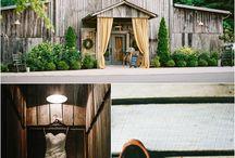 The Barn at Chestnut Springs / Wedding photos at the Barn at Chestnut Springs in Sevierville, TN. A Smoky Mountain barn wedding venue.