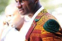 African Prints and Wax in Men Clothes