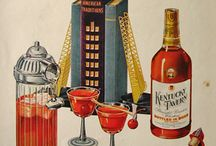 Vintage Booze Ads / A collection of vintage spirits posters and propaganda.