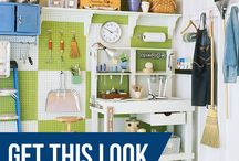 Garage Space / Organize and declutter that space where your car calls home. Our favorite products and tips to make that fun and easy.