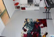 Living Room Resin Flooring | Seamless Floors London