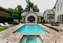 Creating a Home - Pools + Outdoor Rooms