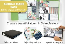 Albums made easy!!  / by Pam Parker