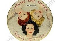 Poudriers vintage