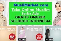 Promo MusliMarket / Pusat fashion hijab muslim modern gratis ongkir seluruh indonesia
