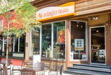 Come On In! | Adagio Stores / Take a peek inside a few of our physical locations. If you're nearby, why not check them out in person? / by Adagio Teas