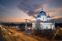 Соборы и церкви Санкт-Петербурга.