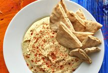 kajak / Hummus