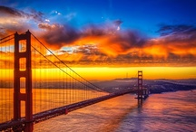 sunset and sunrise <3 :3