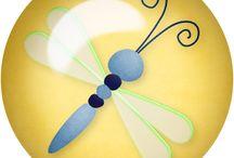 motyle w figurach / moja tablica jest o motylach i figurach.